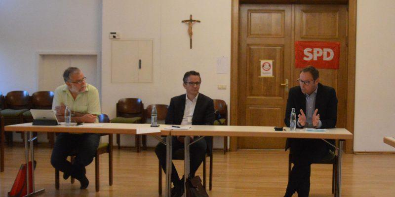 Mathias Knerr, Dr. Thorsten Rudolph und Dr. Alexander Wilhelm